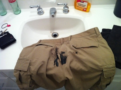 shitty pants
